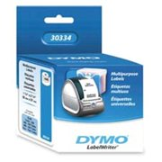 Dymo Corporation DYM30334 Multipurpose Labels- Medium- 2-.25in.x1-.25in.- 1000-RL- White
