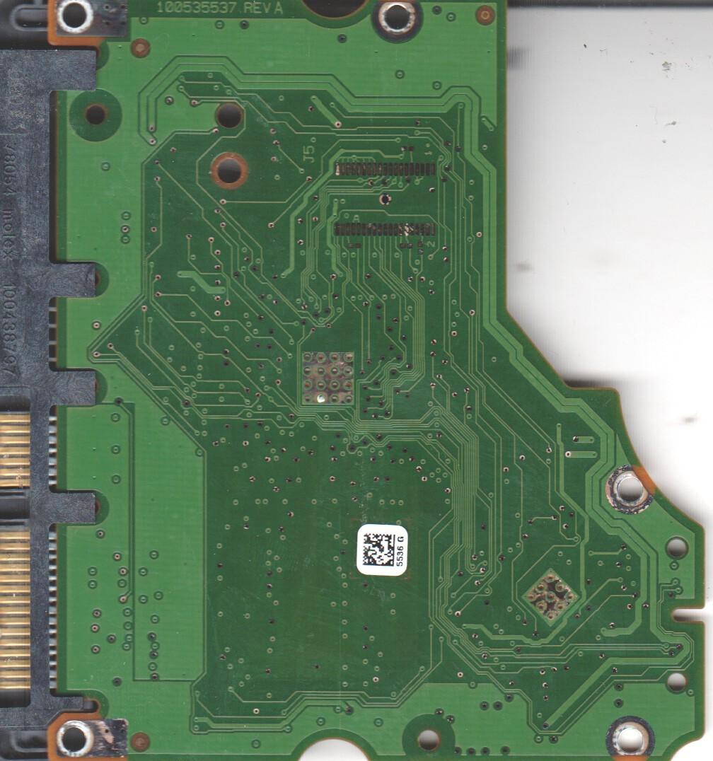 ST3750528AS, 9SL153-621, HP22, 5536 G, Seagate SATA 3.5 PCB