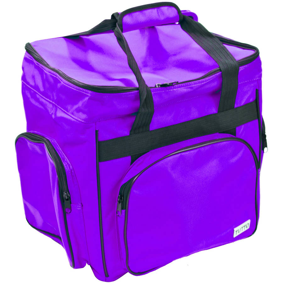 TUTTO Serger Nylon Accessory Bag, Purple