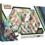 Pokemon Sun and Moon 10 Alolan Marowak GX Box- 4 Pokemon Trading Card Booster Packs   1 foil + 1 oversize card featuring Alolan Marowak-GX