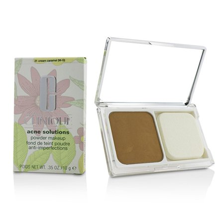 Acne Solutions Powder Makeup - # 21 Cream Caramel (M-G)-10g/0.35oz