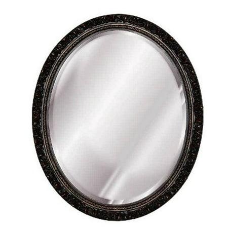 Hickory Manor 5020NP Napoleon Baroque Oval Decorative Mirror