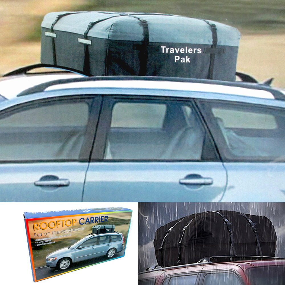 Car Van Suv Roof Top Cargo Rack Carrier Weather Resistant