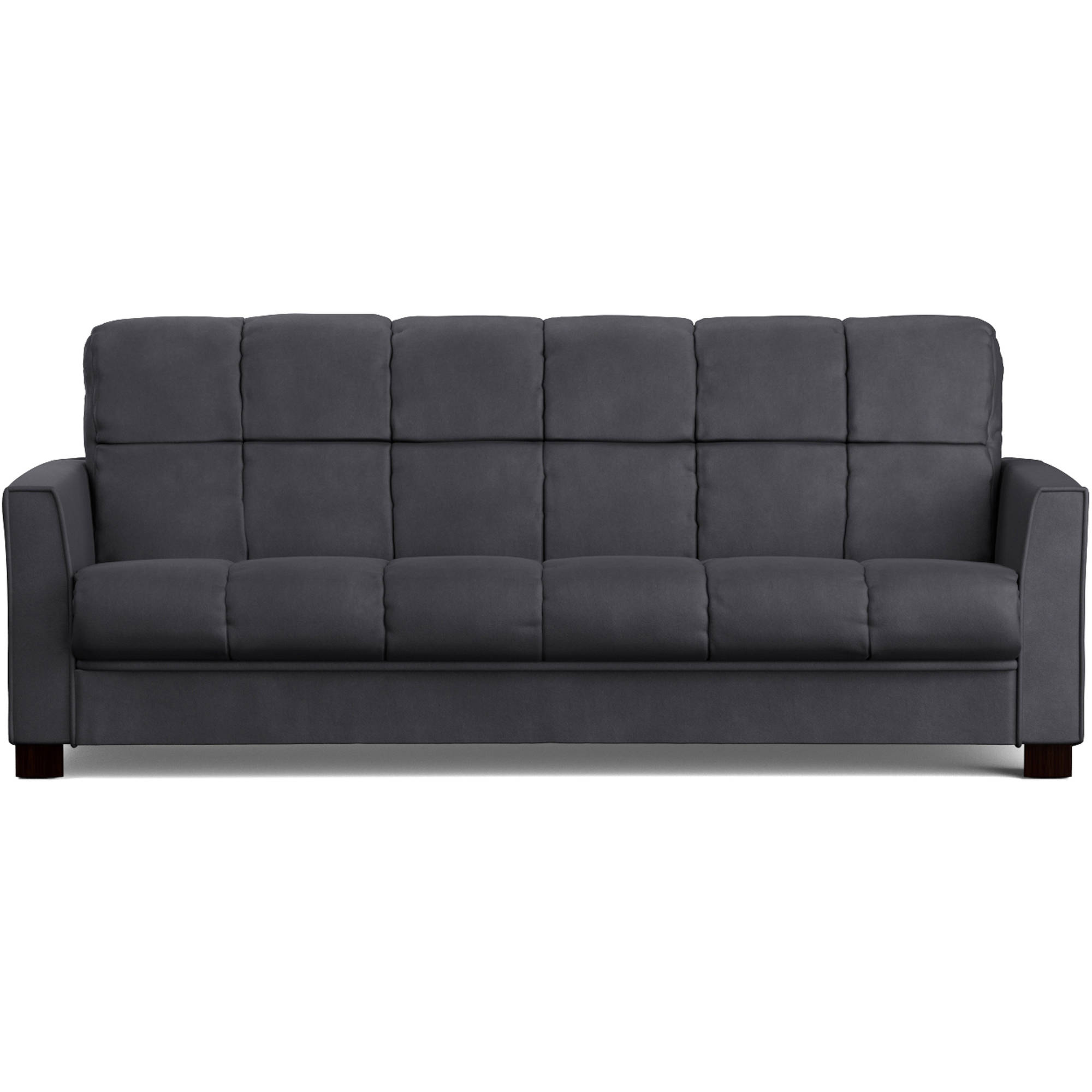Mainstays Baja Futon Sofa Sleeper Bed Multiple Colors Walmart