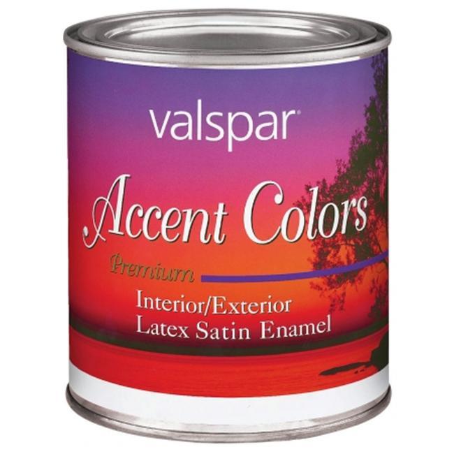 Valspar Brand 1 Quart Magenta Base Accent Color Interior-Exterior Latex Satin En