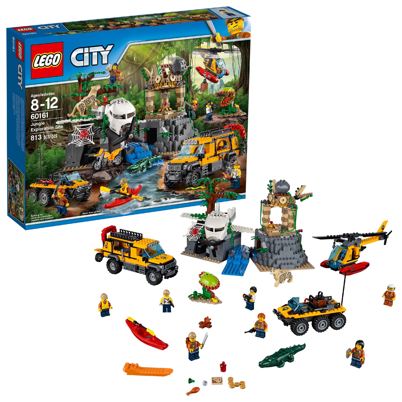 Lego City Jungle Explorers Jungle Exploration Site 60161 Walmart Com