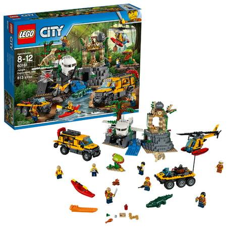LEGO City Jungle Explorers Jungle Exploration Site 60161 - Party City Site