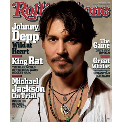 Johnny Depp   Rolling Stone Magazine Cover   22X27 Poster     By Allane Ship From Us