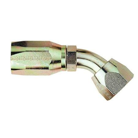 Aeroquip FCM1386 AQP High Pressure Hose Fitting 45 deg. Elbow