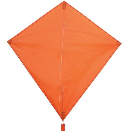 In the Breeze Orange Diamond Kite, 30-Inch