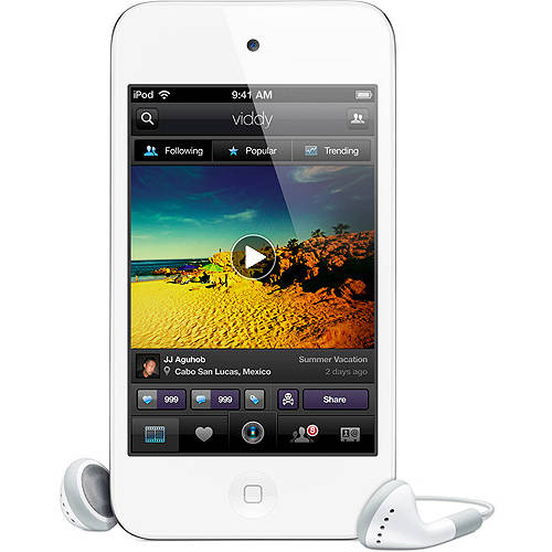 Refurbished Apple iPod Touch 4th Generation 64GB White MD059LL/A