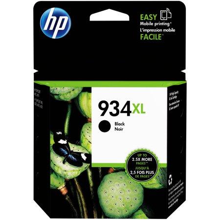 HP 934XL High Yield Original Single Ink Cartridge - Black (HEWC2P23AN)
