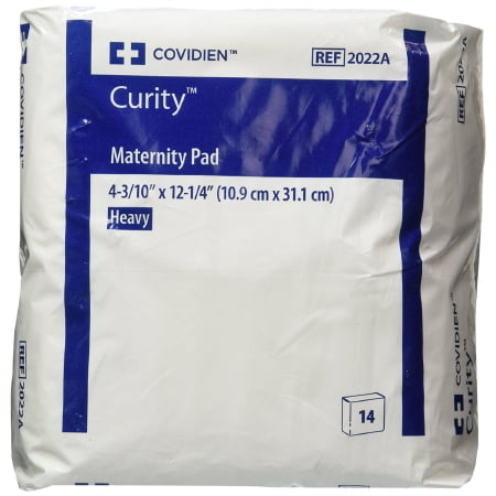 Park 2 Pack Pads (Curity OB / Maternity Pad Super Absorbency, Bag of 14, 2)