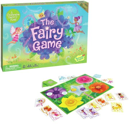The Fairy Game - Board Game by Peaceable Kingdom (GM8) - Good Luck Charlie Halloween Games