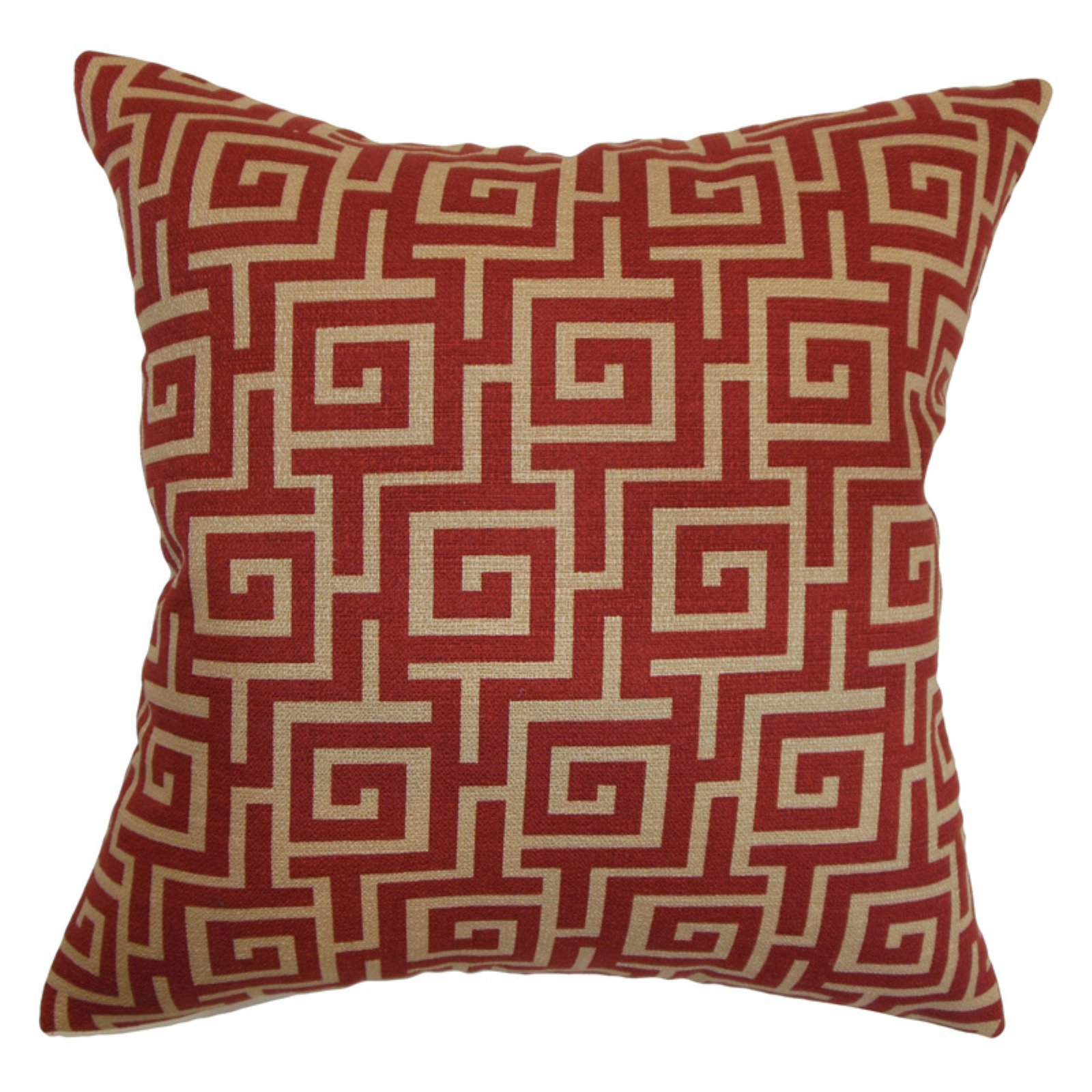 The Pillow Collection Warder Greek Key Pillow
