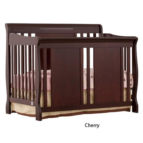 Verona 4-in-1 Convertible Crib - Cherry