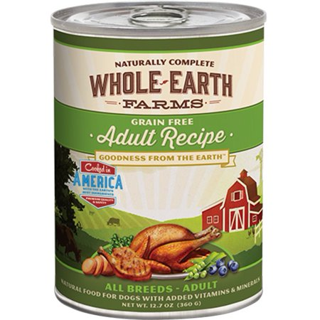 Manufacturer Of Whole Earth Farms Dog Food