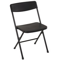 Mainstays Plastic Black Resin Chair