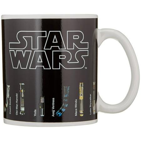 Star Wars - Thermal Heat Change Ceramic Coffee Mug / Cup (Wars Cups)