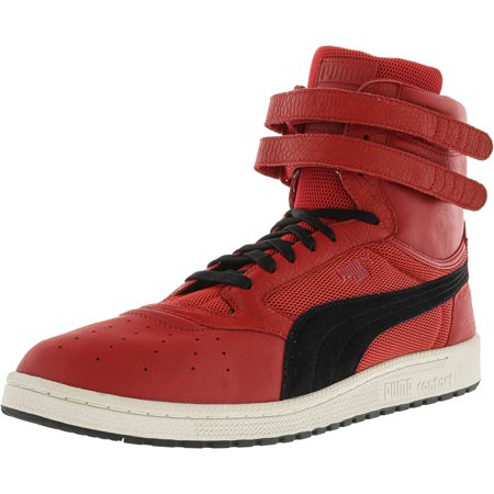 Puma Men's Sky Ii Hi Color Blocked Leather Toreador / Black Ankle-High Fashion Sneaker - 9M