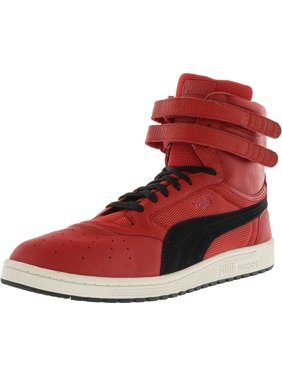 d44e992669b4 Product Image Puma Men s Sky Ii Hi Color Blocked Leather Toreador   Black  Ankle-High Fashion Sneaker