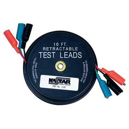 Kastar 1129 3 X 10 Retractable Test Leads