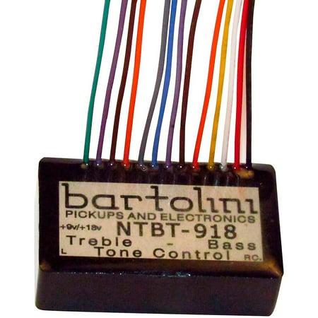 - Bartolini BRMNTBTG/918 2-band Tone Control Preamp