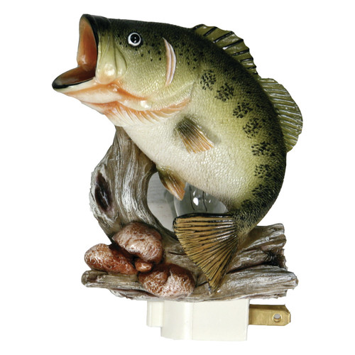 Rivers Edge Products 3D Bass Night Light