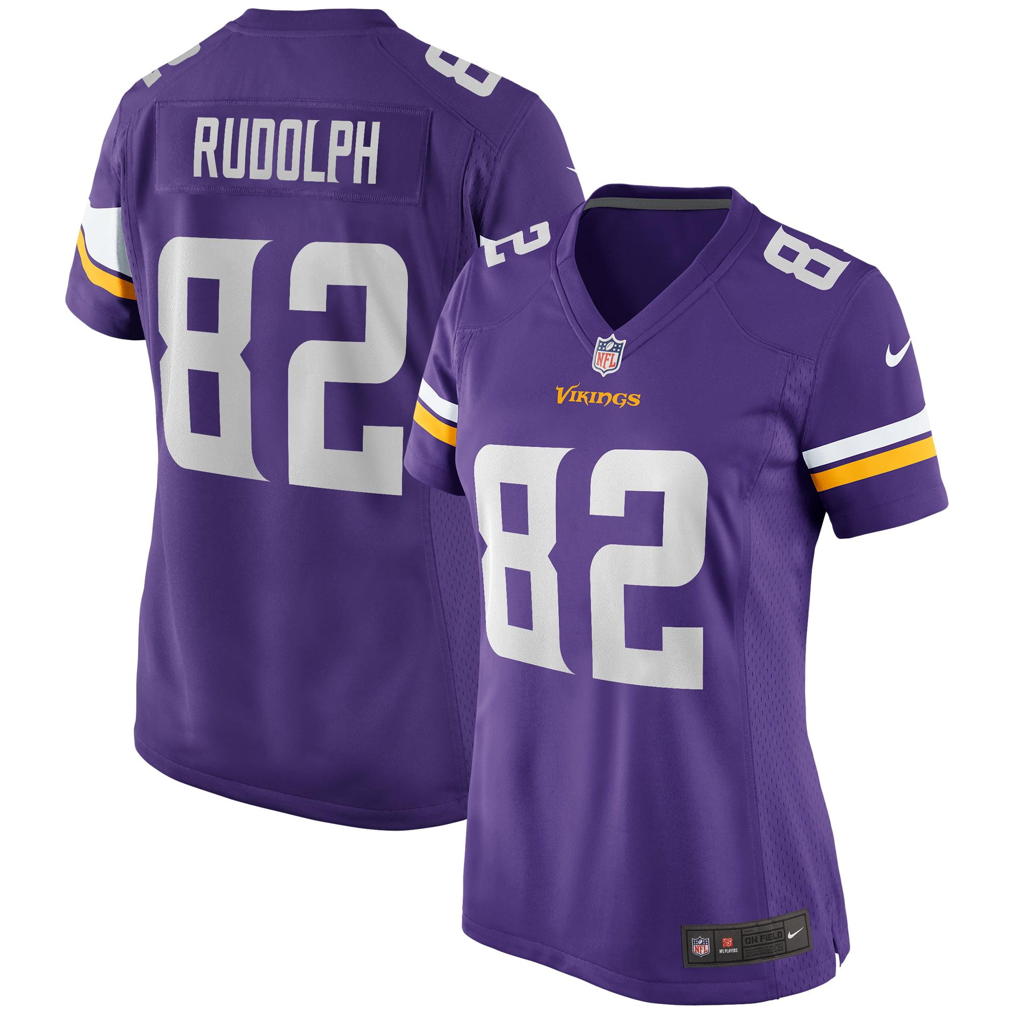 Kyle Rudolph Minnesota Vikings Nike Women's Game Jersey - Purple - Walmart.com