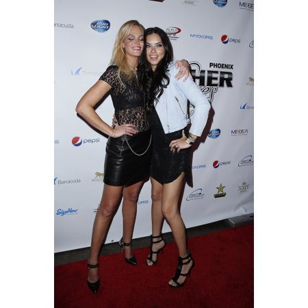 Halloween Store Phoenix Az (Erin Heatherton Adriana Lima At Arrivals For 12Th Annual Super Bowl Leather And Laces Party - Sat The Bentley Projects Gallery Phoenix Az January 31 2015 Photo By MoraEverett Collection)