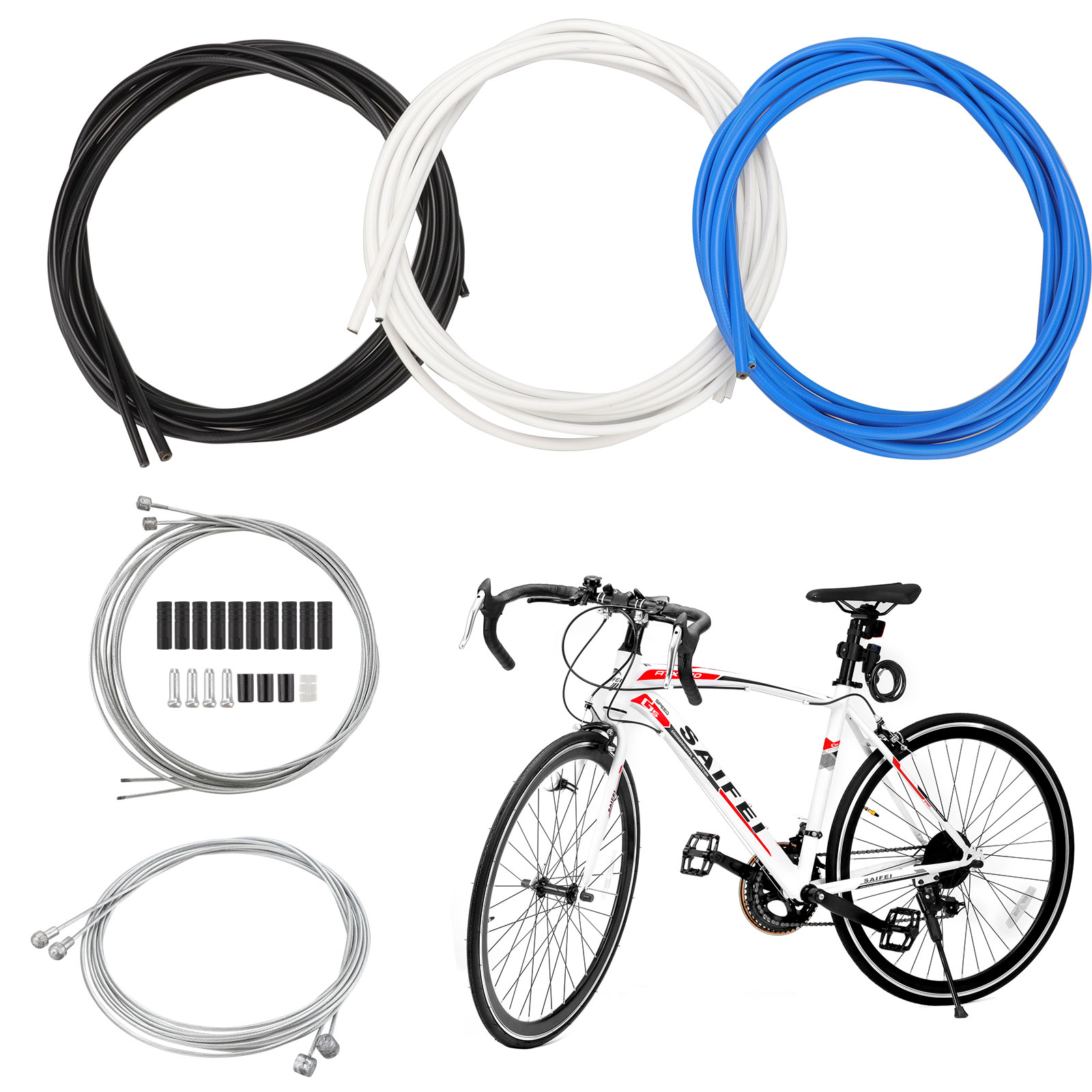 Hot Bicycle Brake//Derailleur Cable Protective Housing MTB Bike Shifter Wire Hose
