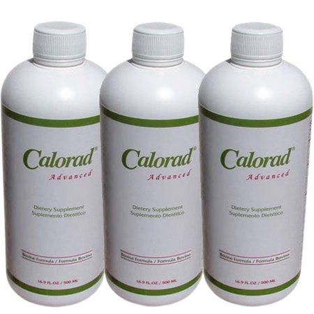 3 Fresh Original Calorad Advanced Bovine Weight Loss! Liquid (Collagen Weight Loss)