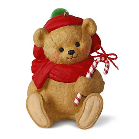- Hallmark Mary Hamilton's Bears #3 Bear Candy Cane Keepsake Christmas Ornament