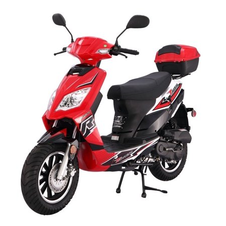Xtreme Xg 470 Gas Scooter (Red Taotao Thunder 50cc (Blade 50) Free Matching Trunk Gas Street Legal)
