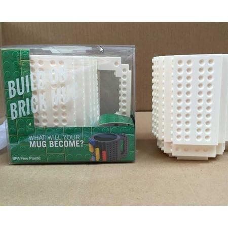 DIY Creative Lego Brick Building Mug Assemble Puzzle Blocks Gift Cup (9 Colors) - image 2 of 12