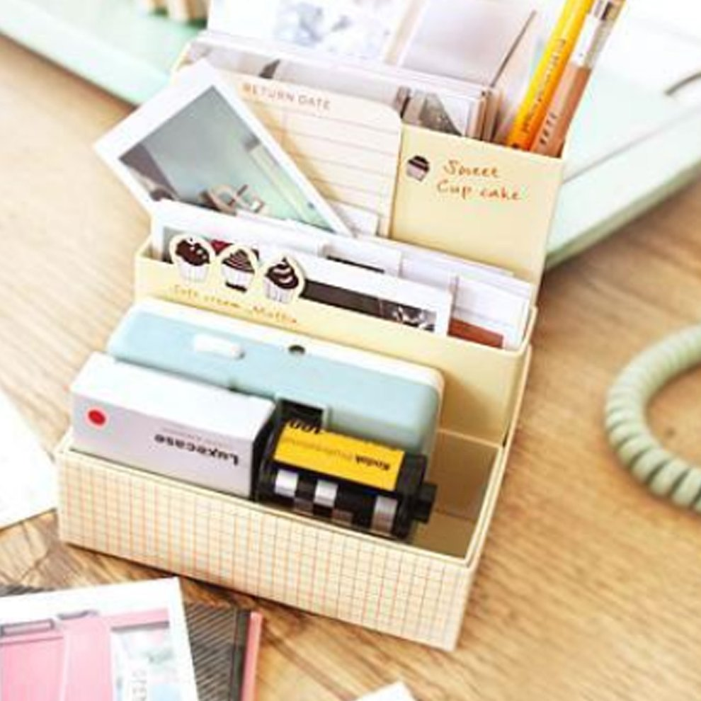 Creative Diy Paper Board Storage Box