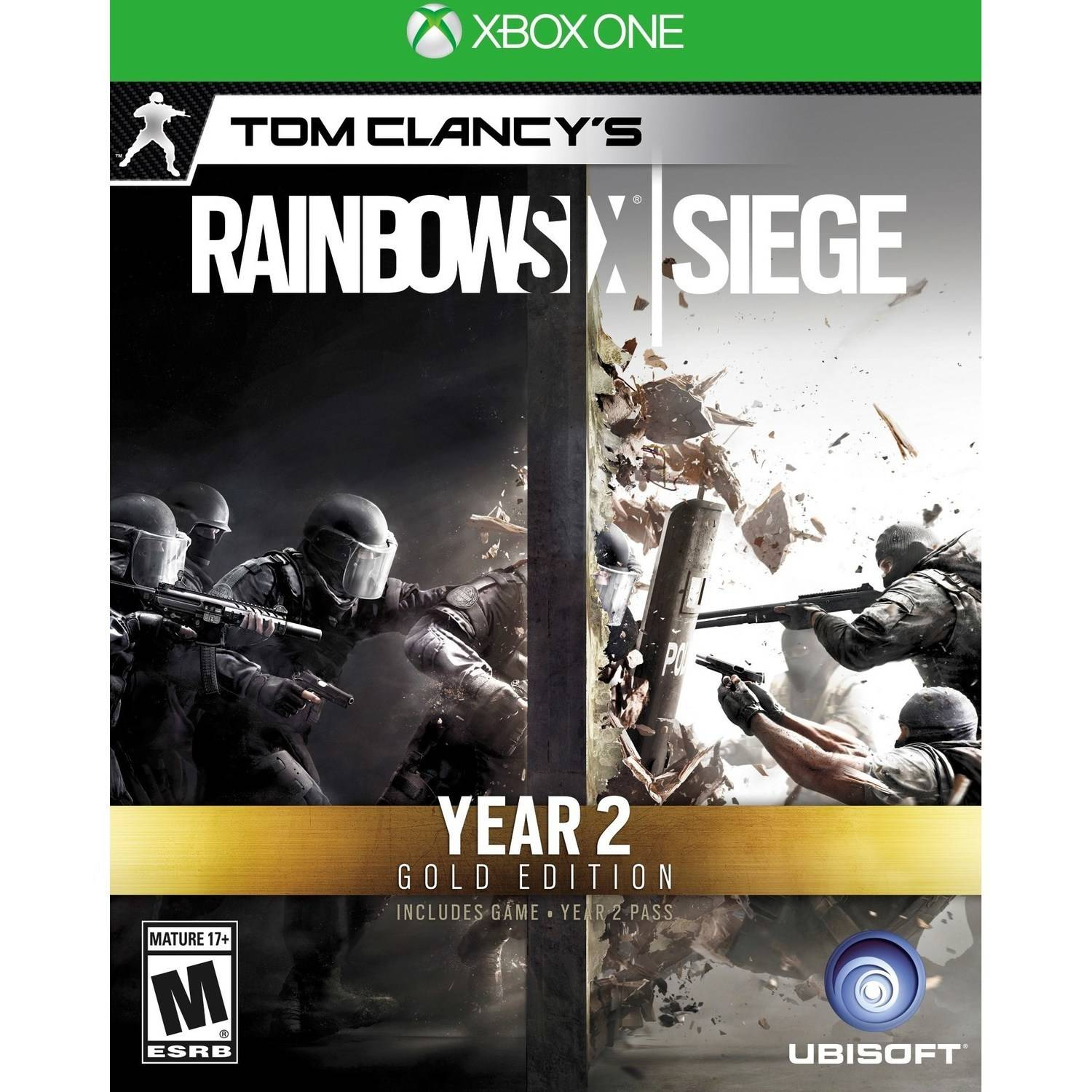 Tom Clancy: Rainbow Six Siege Year 2 Gold Edition (Xbox One) Ubisoft, 887256027452 by Ubisoft