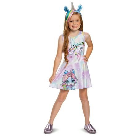 Poopsie Girl's Unicorn Dazzle Darling Halloween Costume
