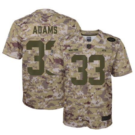 Nike Pro Camo (Jamal Adams New York Jets Nike Youth Salute to Service Game Jersey - Camo)