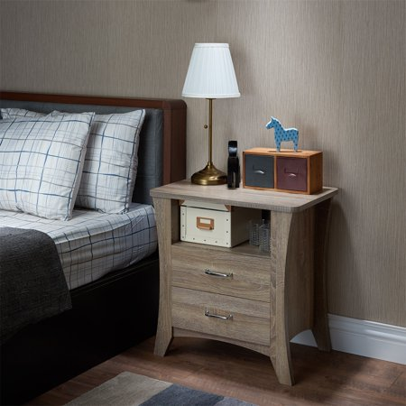 Acme Colt Nightstand, Rustic Natural