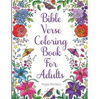 Bible Verse Coloring Book For Adults: Scripture Verses To Inspire As You Color (Paperback)