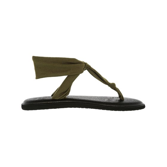 bb220e3037ddf Sanuk Women s Yoga Sling Ella Grey Sandal - 7M - Walmart.com