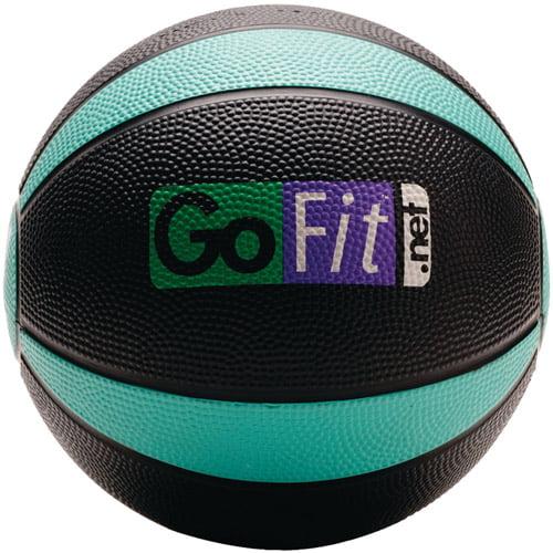 GoFit 4-lb Medicine Ball and Core Performance Training DVD by GoFit LLC