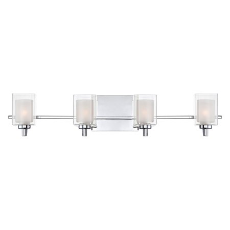 Quoizel Kolt KLT8604C Bathroom Vanity Light - Polished Chrome