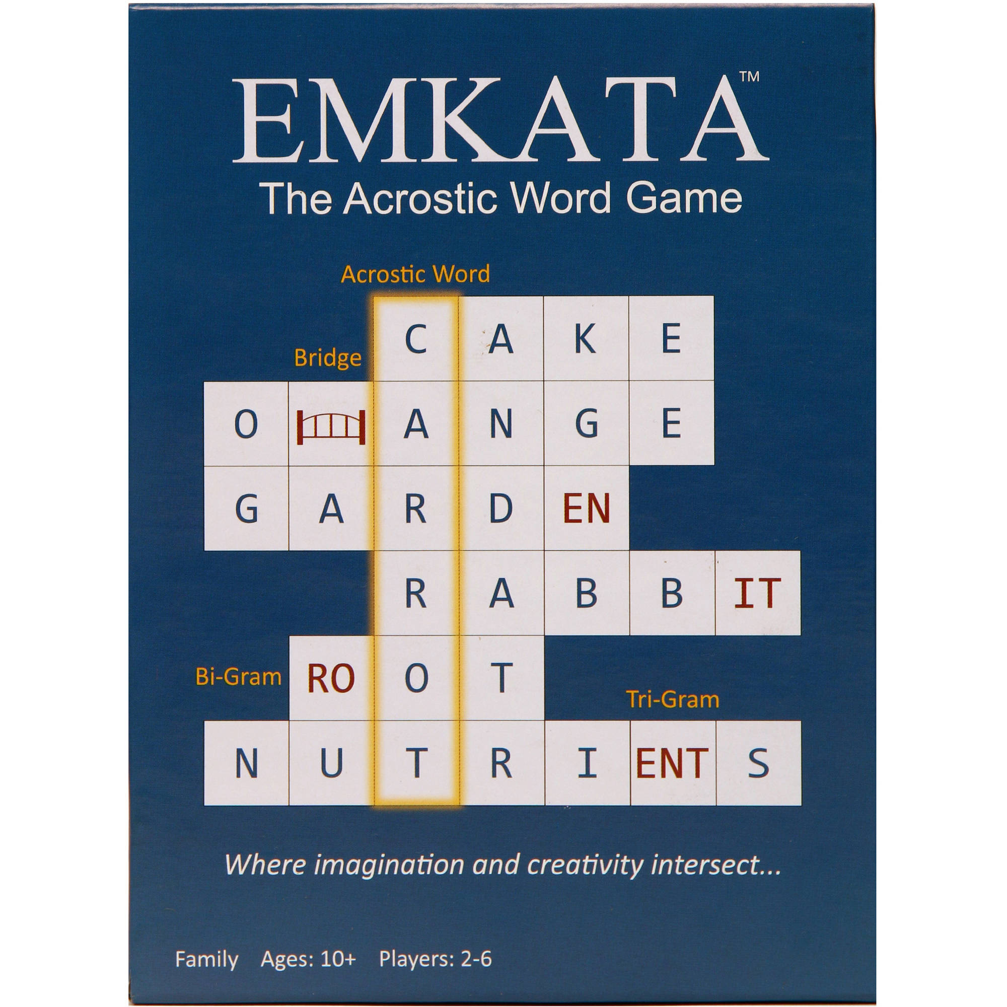 The Original Acrostic Word Game EMKATA