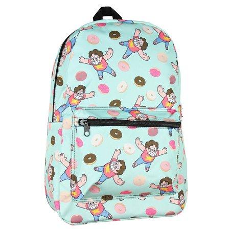 Cheeseburger Backpack Steven Universe (Cartoon Network Steven Universe Big Donut All Over Print)