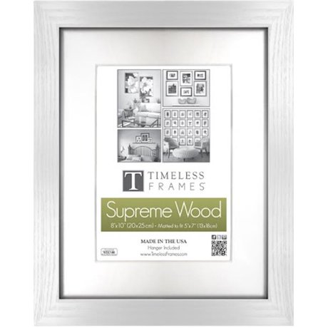 Timeless Frames 73223 Regal Black Wall Frame, 8 x 12 in.