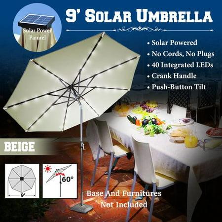 Latitude Run Abia 9 Lighted Umbrella