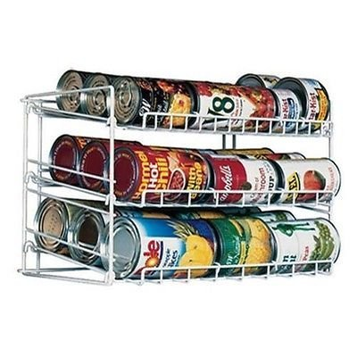 Can Food Storage Kitchen Pantry Cabinet Organizer Canned Goods Rack Holder Shelf by Kitchen Storage & Organization Product Accessories By