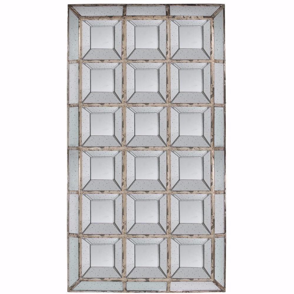Multiple Box Patterned Rectangular Mirror by Benzara